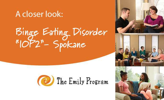 Binge eating disorder program in Spokane