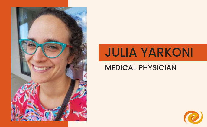 Julia Yarkoni Staff Spotlight