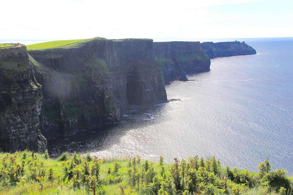 Nature cliffs